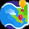 World Map Logo